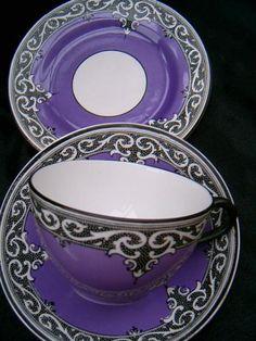 Rare Maling tea cup & saucer