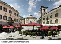 Poschiavo, Switzerland Switzerland, Places Ive Been, To Go, Europe, Italy, Mansions, House Styles, Geo, Centre