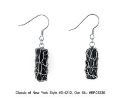 Sterling Silver Mesh Black Onyx Dangle Drop Earrings Classics of NY D 4212 $44.00 | eBay http://www.ebay.com/itm/Sterling-Silver-Mesh-Black-Onyx-Dangle-Drop-Earrings-Classics-NY-D-4212-/271084569204?pt=Fashion_Jewelry=item3f1de64274