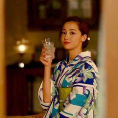 ほろよい新CM第4弾が今日からオンエア 今回はいつにも増して透明感が凄いのよねー色っぽい #沢尻エリカ#エリカ様#エリカ#erika#美人#かわいい#綺麗#女優#ほろよい