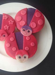 lieveheersbeest cupcakes met how-to