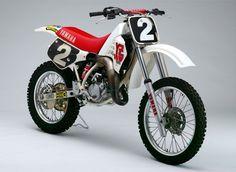John Van Den Berk Yanaha factory YZ 125 cc.