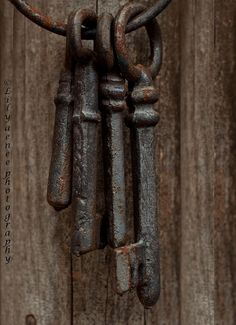 weathered skeleton keys
