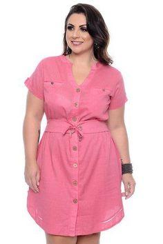 Vestido Plus Size Ledier – Daluz Plus Size Classy Work Outfits, Curvy Outfits, Plus Size Outfits, Plus Size Shirt Dress, Plus Size Peplum, Plus Size Womens Clothing, Plus Size Fashion, Plus Size Ivory Dresses, Molliges Model
