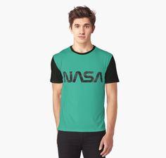 «NASA Vintage Emblem 1975-1992 - Black Edition» de Lidra