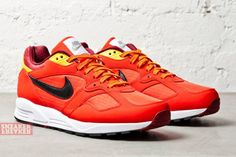 Nike Air Base II | Challenge Red & Laser Orange