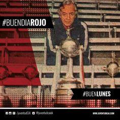 #BuenDiaRojo! #BuenLunes! 😈 Nilo Bonell. Famoso kinesiologo de #Independiente. Año 1975.