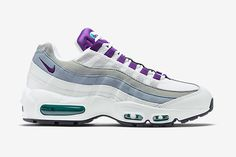best loved ae82d 0722a Nike Air Max 95 Gris loup Violet basket-ball