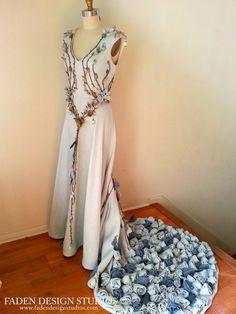 Faden Design Studios The Margaery Tyrell Wedding Dress - Faden Design Studios