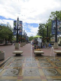 Downtown Boulder, Colorado
