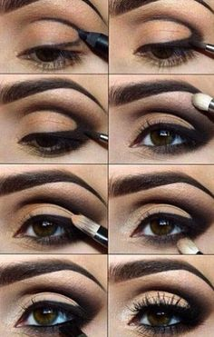 Gorgeous take on a smokey eye... Not sure if I could recreate it though!