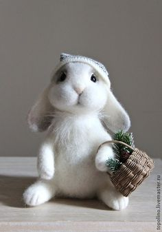 Toy animals, handmade. Fair Masters - handmade bunny Croche. Handmade.