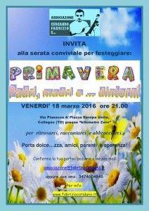 Locandina Invitofestaprimavera2016 Party, Spring