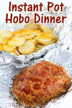 Instant Pot Hobo Dinner–the best parts of a foil dinner at home in your Instant Pot! A delicious meat and potatoes dinner.
