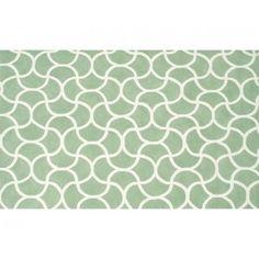Mermaid Tile Green Area Rug