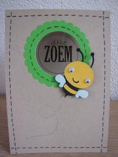 voor rond een spiegeltje ... voor een bijzondere mama Bee Creative, Seven Years Old, Atc, Stampin Up, Spring, Frame, Inspiration, Classroom Ideas, Party Ideas