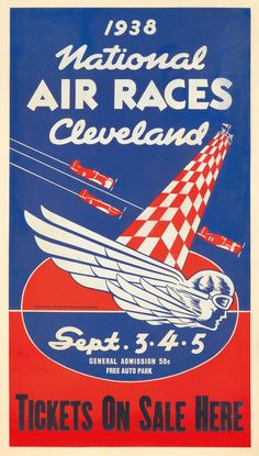 National Air Races - Cleveland - 1938 -