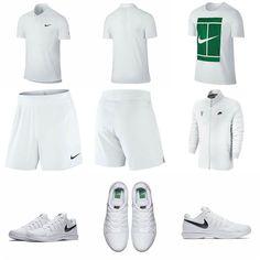 detailed look 4f86f a5cca Roger Federers Outfit for Wimbledon 2016 Wimbledon 2016, Nike Tennis,  Tennis Fashion, Tennis