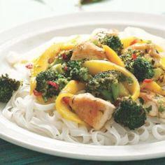 Thai Chicken & Mango Stir-Fry - EatingWell.com