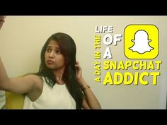 Videos capsules: Snapchat Addicts - A Day In The Life - Very Funny ...