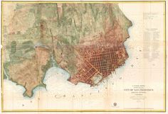 1840 map of san francisco bay - Google Search