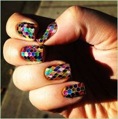 CUTE COLORFUL NAIL ART DESIGNS FOR 2017 - Styles Art