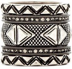 House of Harlow Mesa Stack Bracelets are on sale now for - 25 % !
