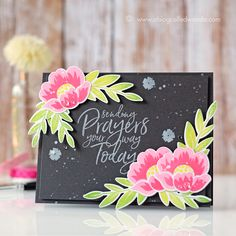 More Papertrey Ink April Release: Gran's Garden and Quoted-Start Again! | A Blog Called Wanda | Bloglovin'