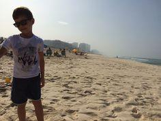 Praia da Reserva na Barra da Tijuca - Zona Oeste do RJ! Esta foto foi tirada em 01/8/15  mostrando como em pleno inverno temos praia e sol o ano inteiro!