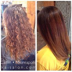 #themoment #hair #treatment #northloop #nolo #kaisalon #minneapolishair #balayage #brunettehair #aveda #avedacolor