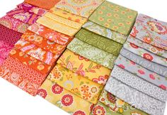 Bold and beautiful High Street by Lily Ashbury for Moda Fabrics.  Available in yardage and pre-cuts for quilting and sewing at Fat Quarter Shop!