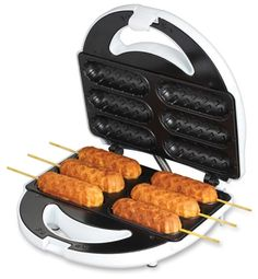 Corn Dog Factory $26.99, this looks fun and without frying