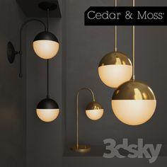 Cedar & Moss Pendant 6 in