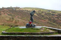 Alto do San Roque Memorial, Linares, Galicia Spain, Camino de Santiago