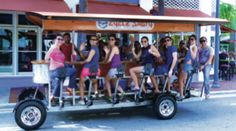 CYCLE PARTY FORT LAUDERDALE Experience Fort Lauderdale in a fun & unique new way! Cycle Party Fort Lauderdale provides a 100% pedal-pow- ered party experience for groups of 6-15 on a one-of-a- kind quadracycle! Corporate Team Building, Tapa Tours, Pub Crawls, Park and Sightseeing Tours are available 7 days a week. 786.258.8832 • cycle-party.com