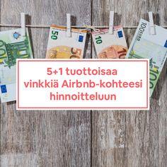 5+1 tuottoisaa vinkkiä Airbnb-kohteesi hinnoitteluun (#23) - Joonatan Voltti Cover