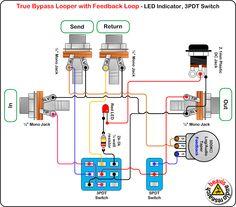 true bypass pedal wiring diagram house wiring diagram symbols u2022 rh maxturner co