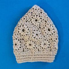 Flower motif hat    Craftsy
