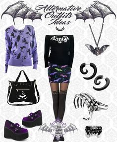 Gothic Outfits, Emo Outfits, Fashion Outfits, Emo Clothes, Badass Outfit, Preteen Fashion, Goth Look, Alternative Outfits, Gothic Fashion