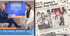 Corey Feldman May Have Just Revealed One of His Alleged Predators on National TV | Stillness in the Storm