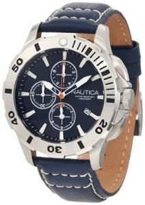 Nautica Men's N18642G Bfd 101 Dive Style Chrono Watch