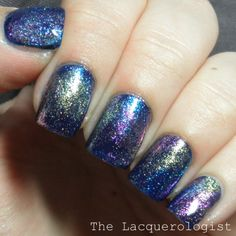 The Lacquerologist: Starlight And Sparkles Top Coats & Nail Art!