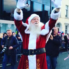 #Santa has arrived! Waterford #Winterval