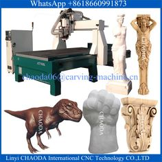 Factory Price ! China CNC Router Machine / Wood Engraving Machine For 3D Cutting Carving Foam EPS Styrofoam Polystyrene