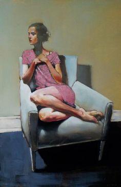 Michael Carson - Blue Chair