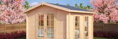 Vorteile der Gartenhäuser von Hansagarten24