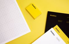The Best of BP&O – Headed Paper: Logotype and stationery designed by Face for industrial design studio Kinetica