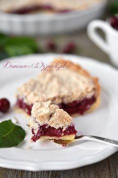 Tarta wiśniowa z kokosem Sweet Cakes, Cookie Desserts, I Foods, Baked Goods, Food To Make, Delicious Desserts, Cake Recipes, Good Food, Food And Drink