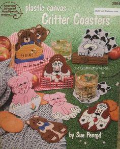 Free Plastic Canvas Books | plastic canvas,cross stitch,needlepoint,embroidery vintage patterns ...