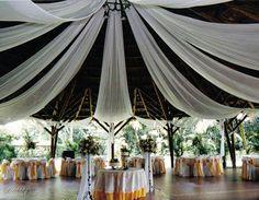 decoracion para bodas con telas